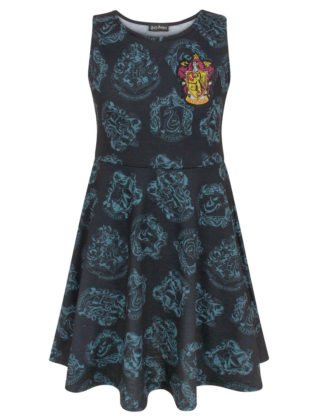 Harry Potter Hogwarts Houses Girl's Skater Dress
