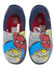 Marvel Spider-Man Boy's Light Up Slippers