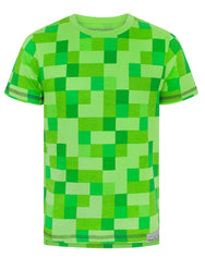 Minecraft All Over Creeper Boy's T-Shirt
