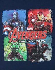 Avengers Age Of Ultron Panels Boy's T-Shirt