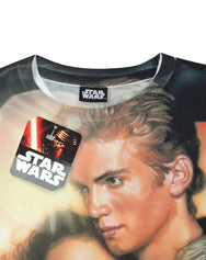 Star Wars Attack Of The Clones Sublimation Boy's T-Shirt