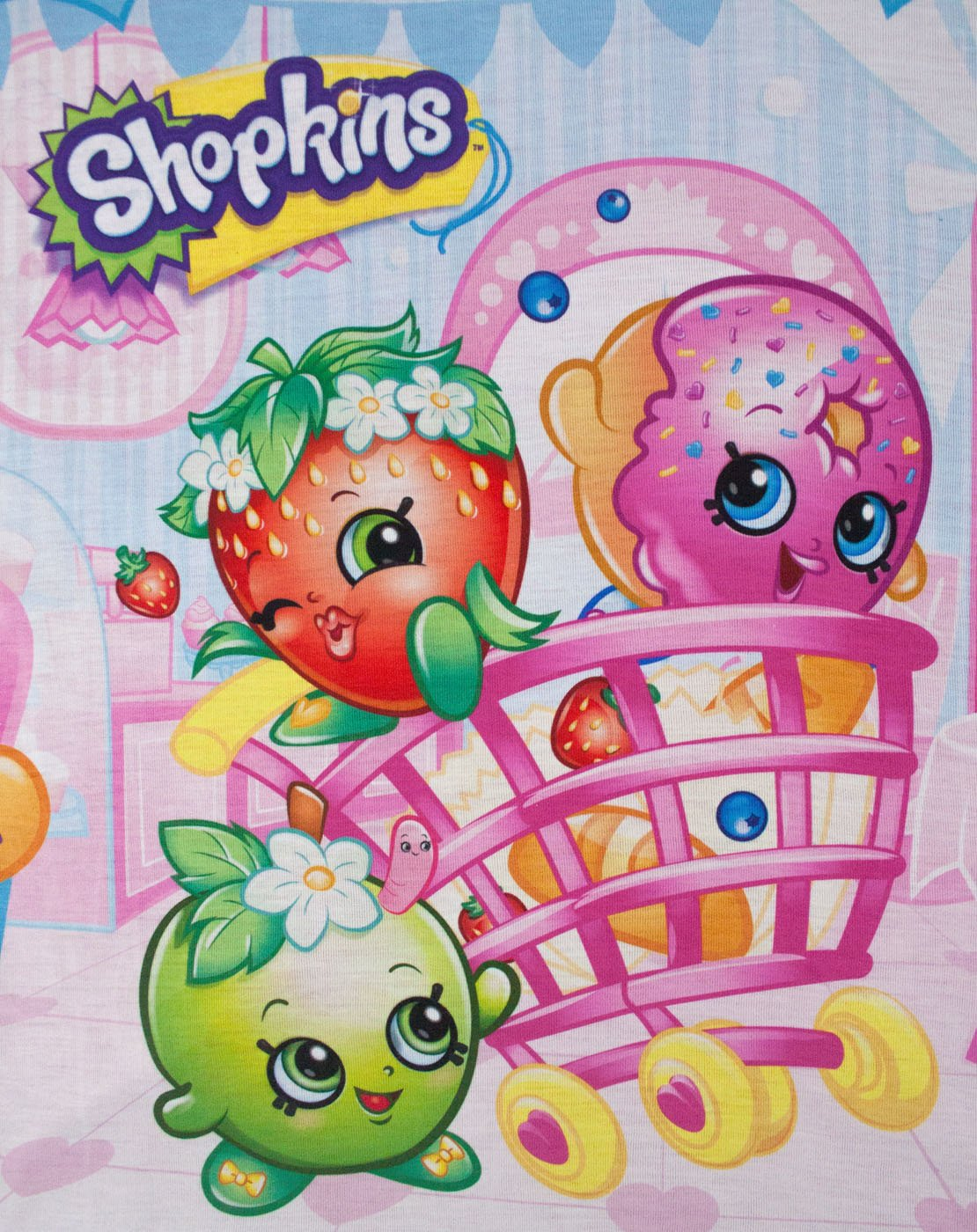 Shopkins All Over Girl's T-Shirt