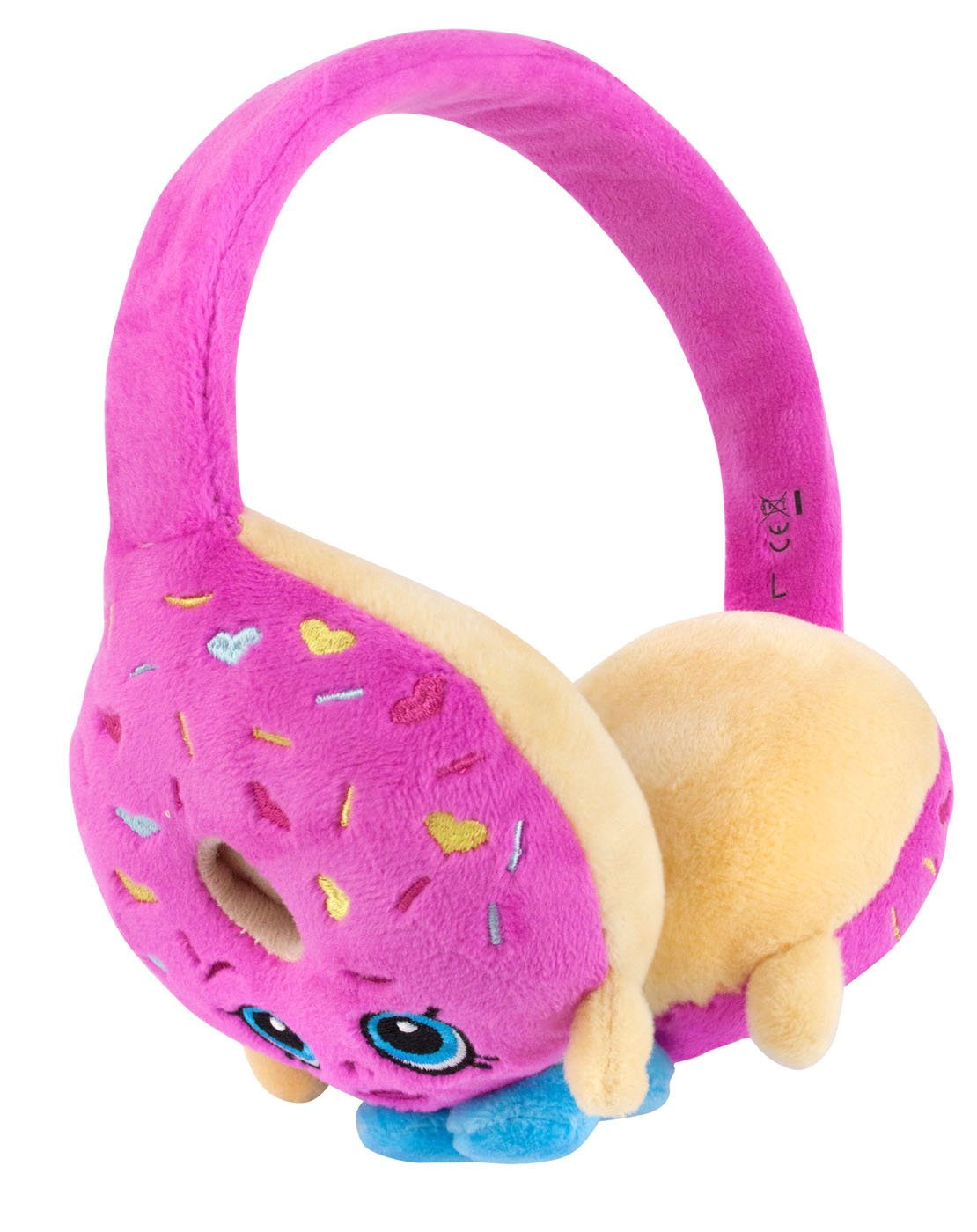 Shopkins D'lish Donut Plush Headphones