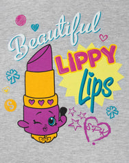 Shopkins Lippy Lips Beautiful Girl's T-Shirt