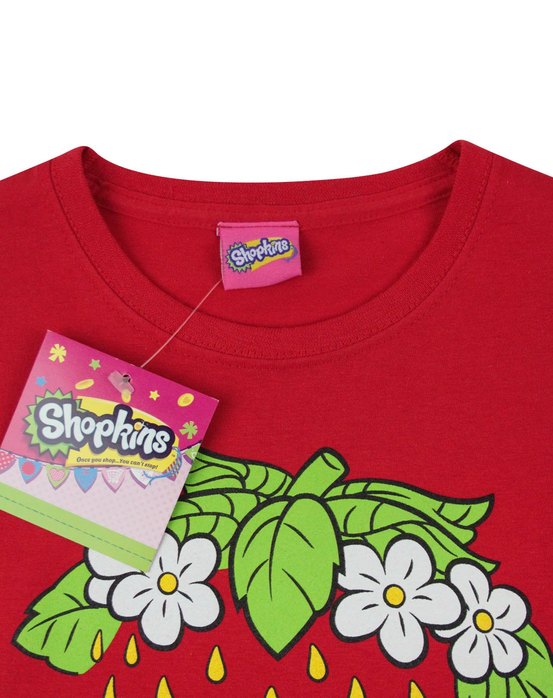 Shopkins Strawberry Kiss Girl's T-Shirt
