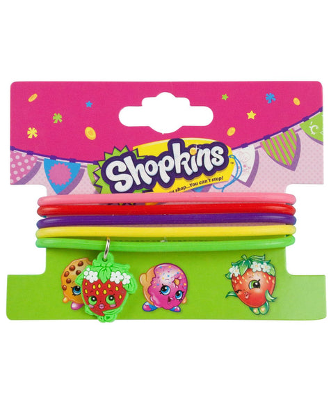 Shopkins Strawberry Kiss Jelly Bracelet