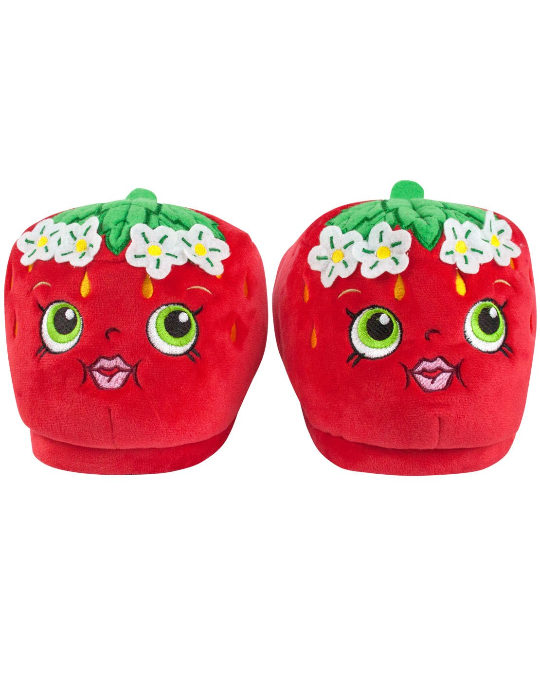 Shopkins Strawberry Kiss Girl's 3D Slippers