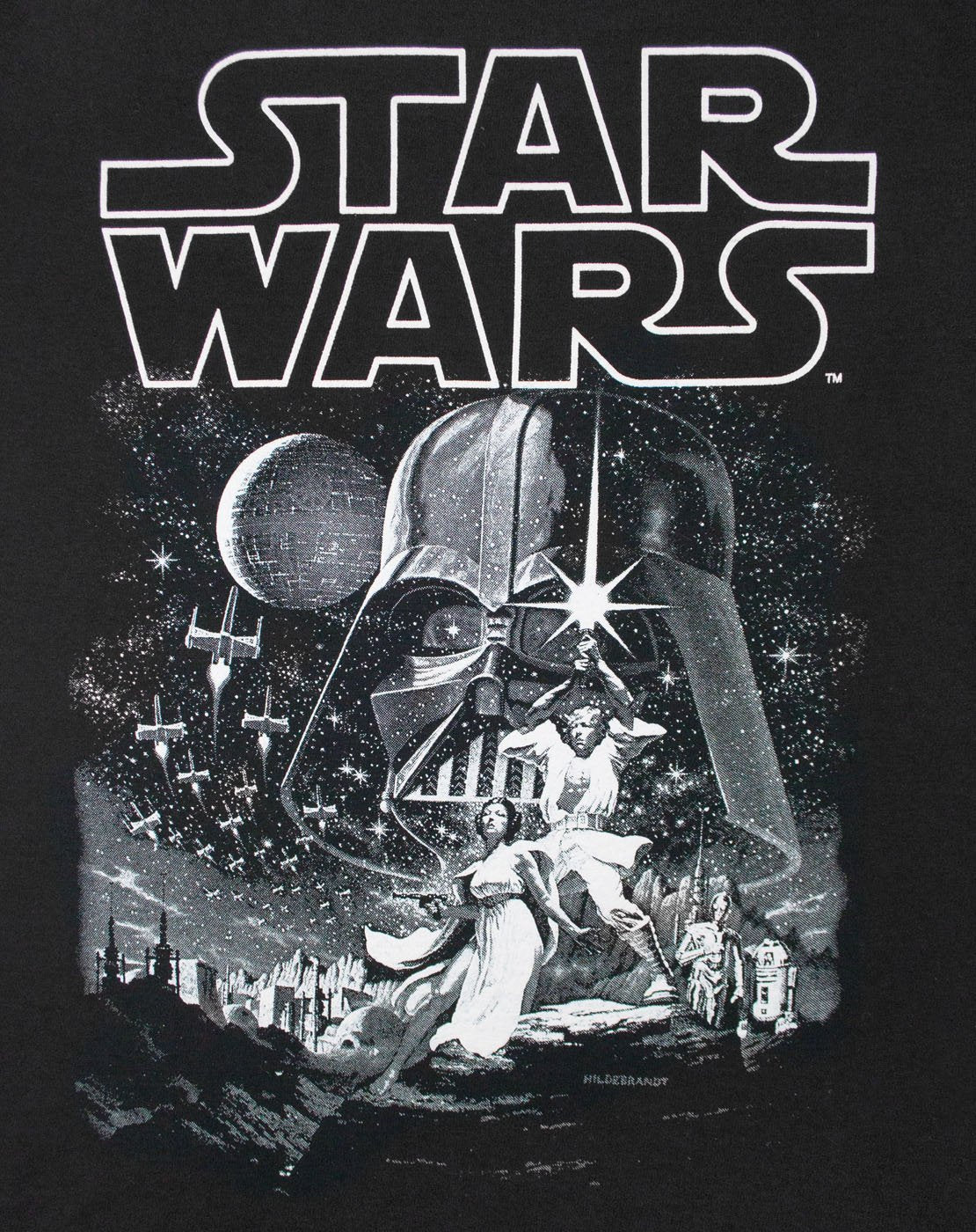 Star Wars A New Hope Poster Boy's T-Shirt