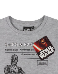 Star Wars C-3PO and R2D2 Boy's T-Shirt