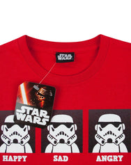 Star Wars Stormtrooper Expressions Boy's T-Shirt