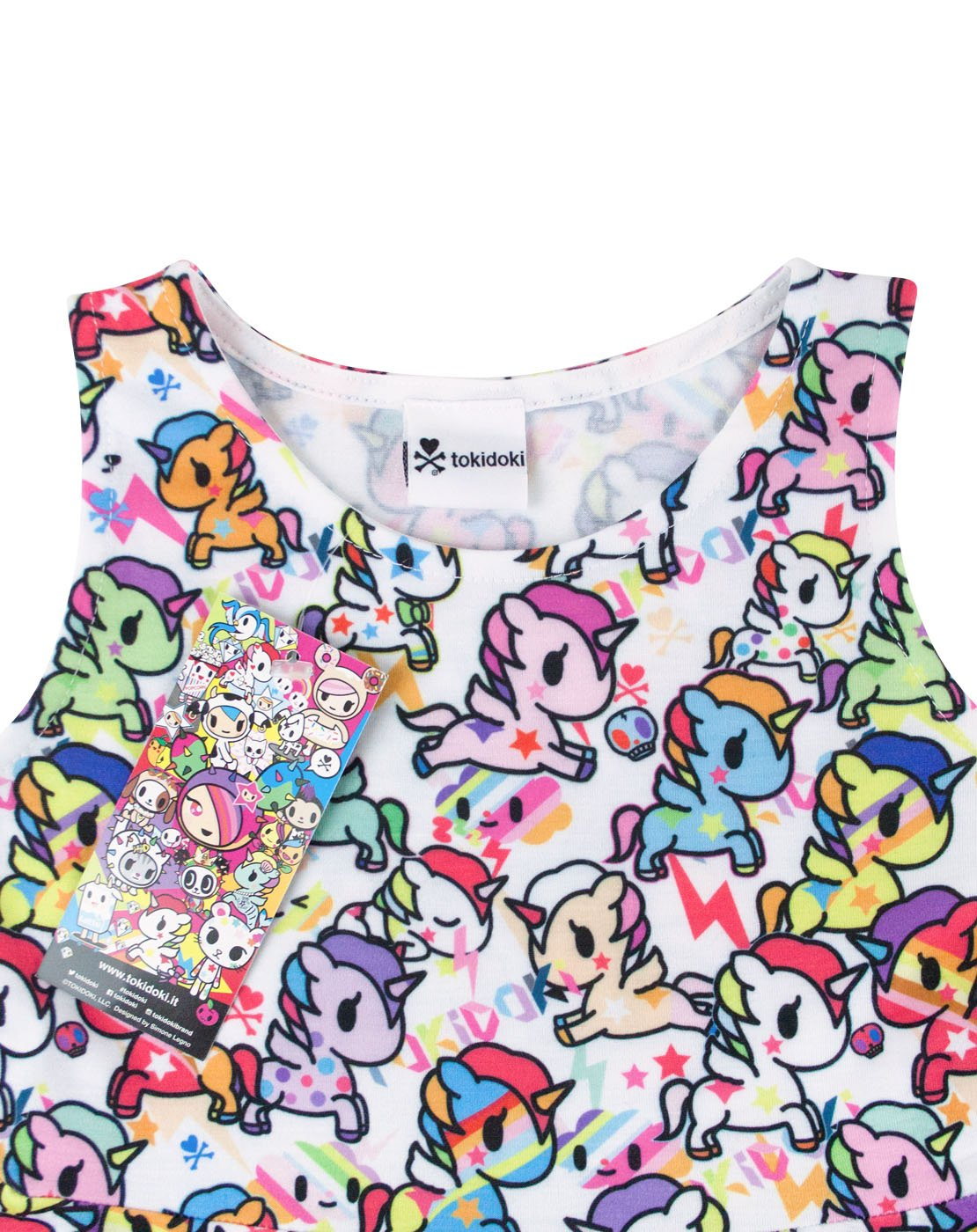 Tokidoki Unicorno Girl's Skater Dress