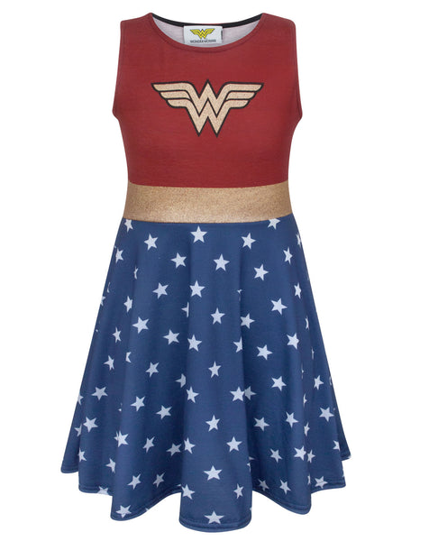 Wonder Woman Girl's Cosplay Costume Dress