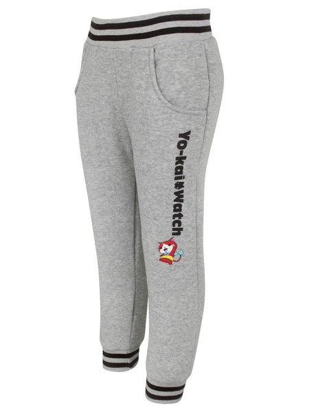 Yo-Kai Watch Characters Boy's Grey Joggers