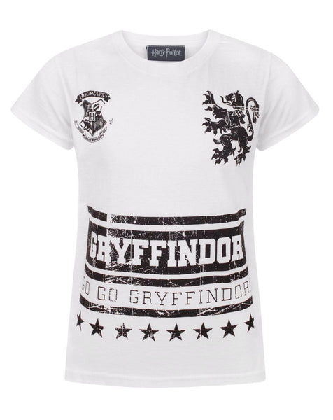 Harry Potter Go Gryffindor Girl's T-Shirt