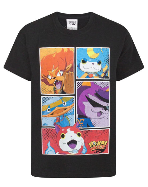 Yo-Kai Watch Character Panels Boy's T-Shirt
