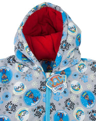 Paw Patrol Lets Snow Boy's Grey Coat