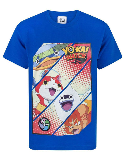 Yo-Kai Watch Panels Boy's T-Shirt