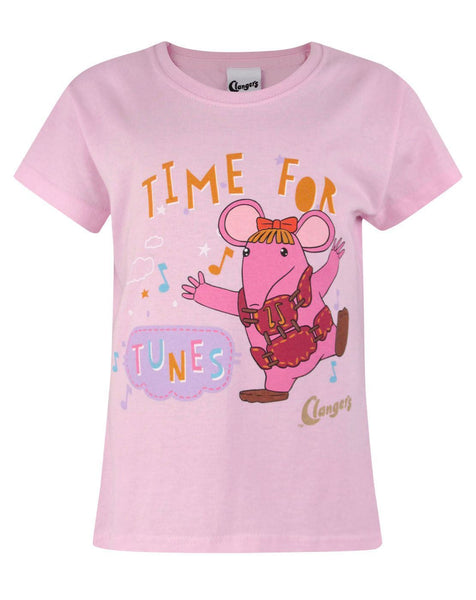 Clangers Tunes Girl's T-Shirt