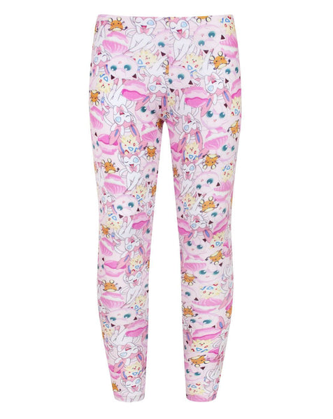 Pokemon Characters Girl's Leggings