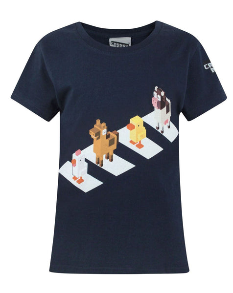 Crossy Road Crossing Girl's T-Shirt