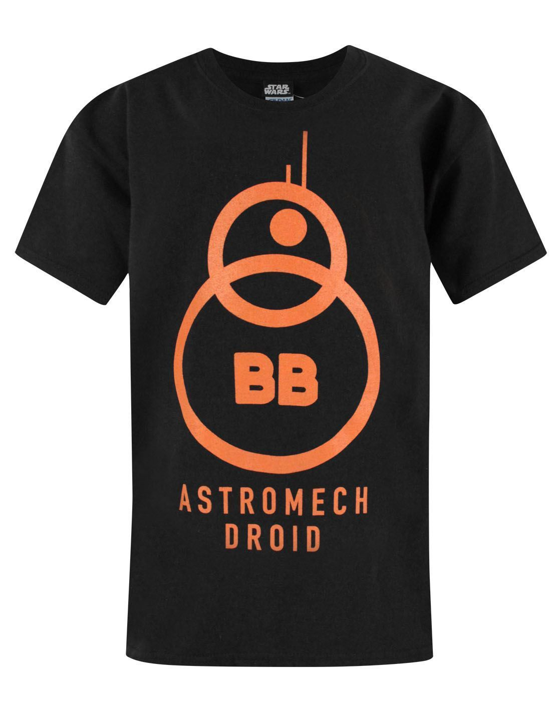 Star Wars The Force Awakens BB-8 Astromech Droid Boy's T-Shirt