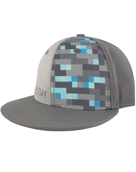Minecraft Diamond Snapback Cap