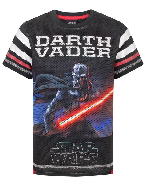 Star Wars Darth Vader Boy's Baseball T-Shirt