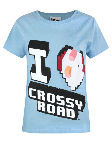 Crossy Road I Love Crossy Road Girl's T-Shirt