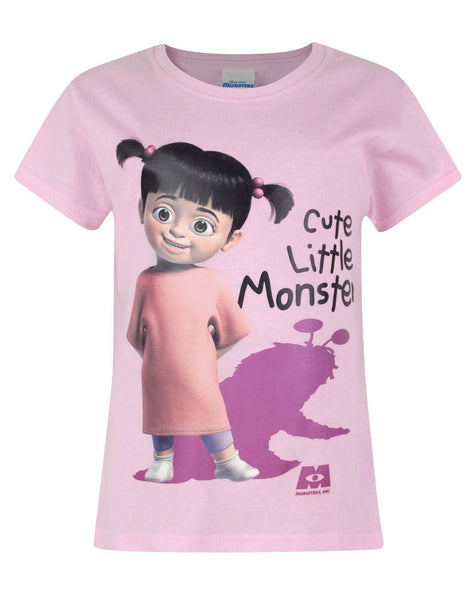 Monsters Inc Boo Cute Little Monster Girl's T-Shirt