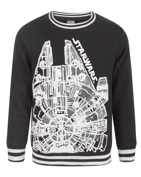 Star Wars Millennium Falcon Boy's Sweatshirt
