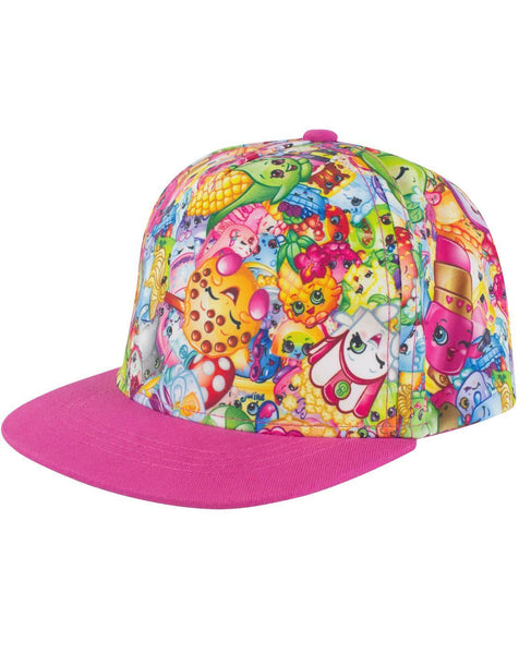 Shopkins All Over Snapback Cap