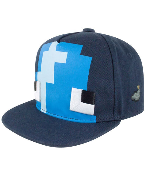 Minecraft Squid Kid's Snapback Cap