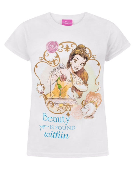 Beauty And The Beast Beauty Is Found Within Girl's T-Shirt