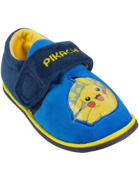 Pokemon Pikachu Boy's Slippers