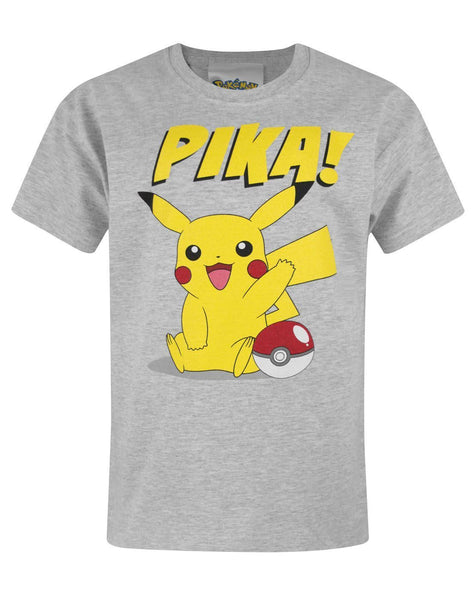 Pokemon Pika Boy's T-Shirt