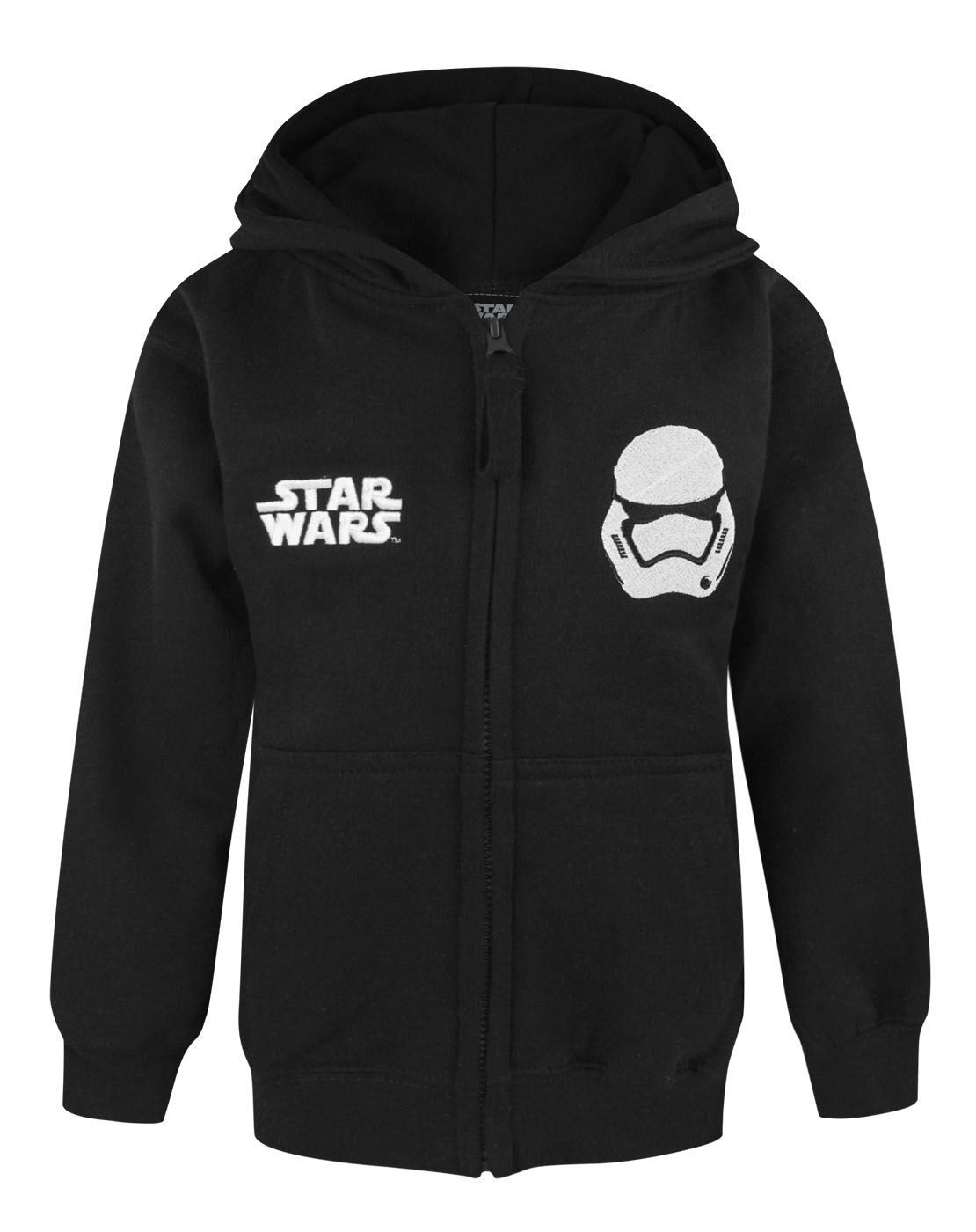 Star Wars Force Awakens First Order Stormtrooper Boy's Zip Up Hoodie