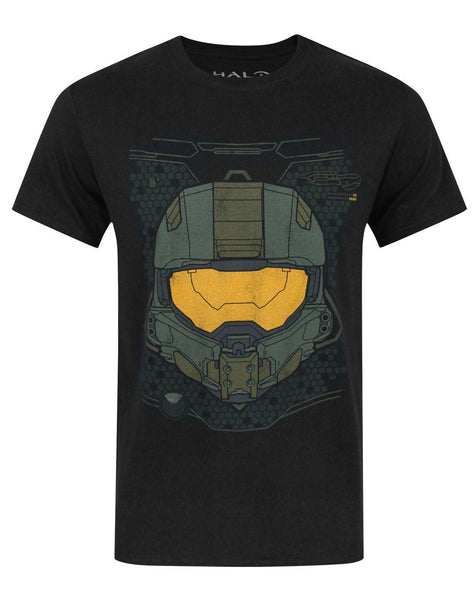 Halo 5 Master Chief HUD Helmet Boy's T-Shirt