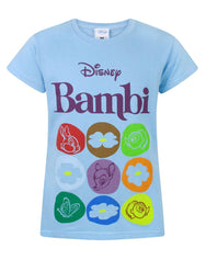 Disney Bambi Motif Girl's T-Shirt