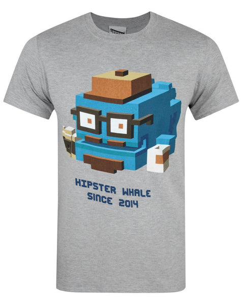 Crossy Road Hipster Whale Men's T-Shirt