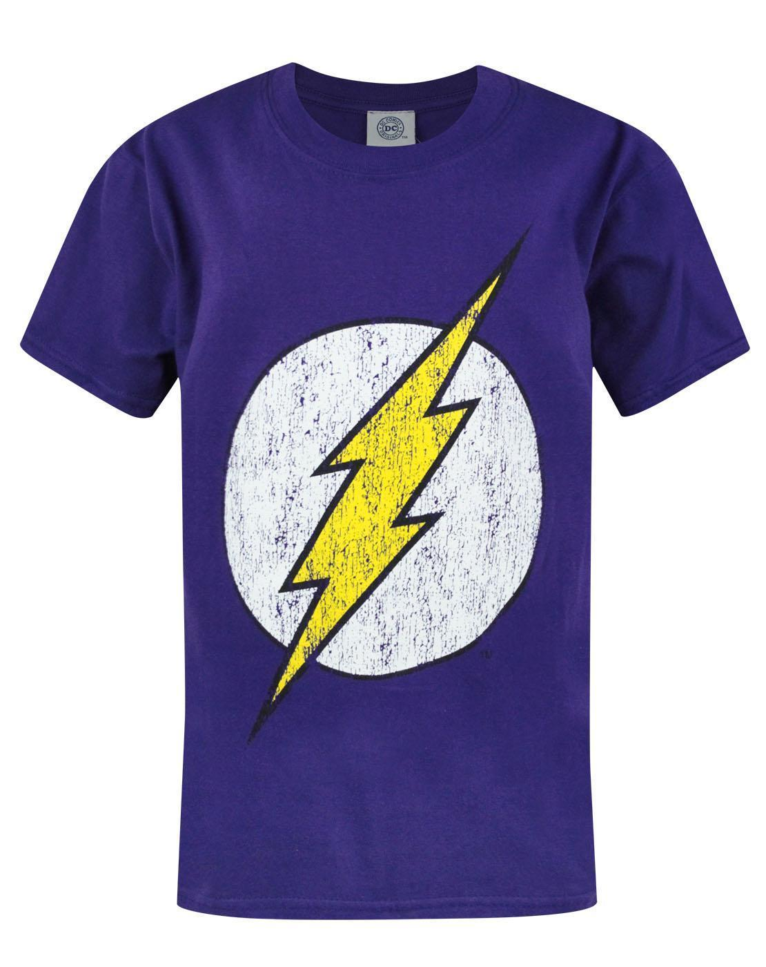 Flash Distressed Logo Boy's T-Shirt