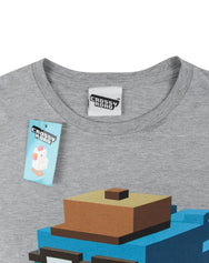 Crossy Road Hipster Whale Women's T-Shirt