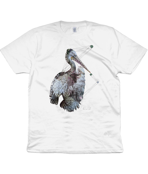 Pelican in White-Clothing-BLVCK