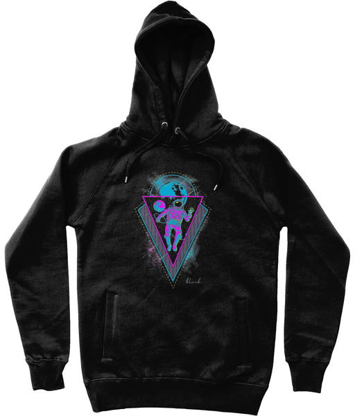 Hello Space Hoodie-Clothing-BLVCK