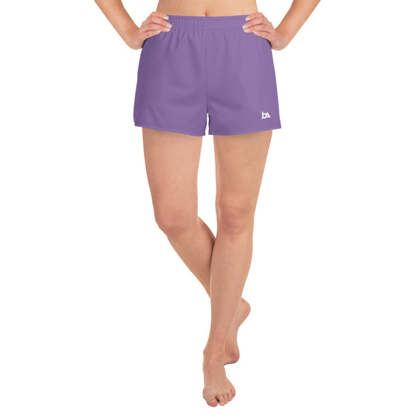 Purple Athletic Short Shorts