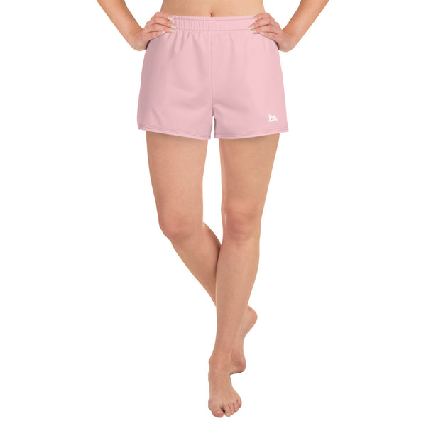 Pink Athletic Short Shorts