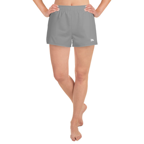 Grey Athletic Short Shorts