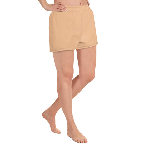 Nude Athletic Short Shorts