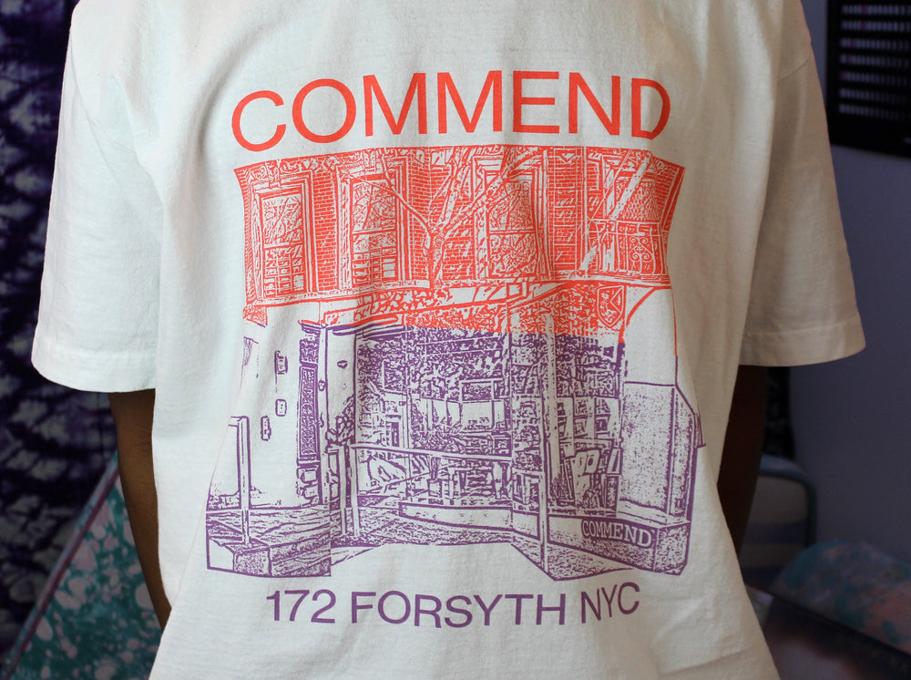 Commend Storefront T-Shirt - White