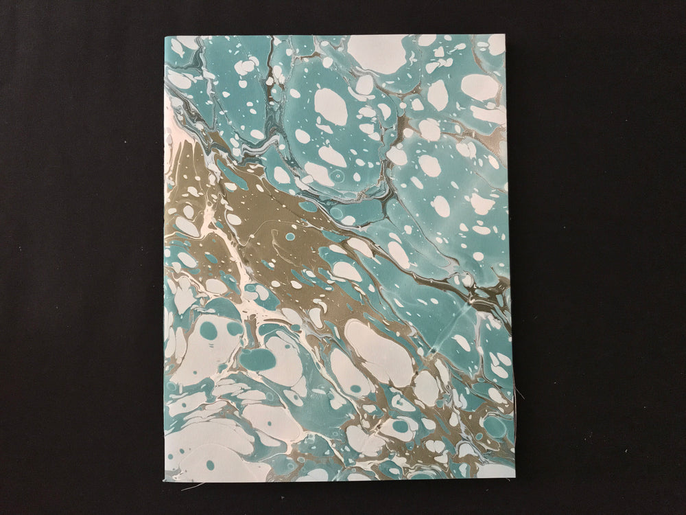 Christin Ripley Large Marbled Notebook