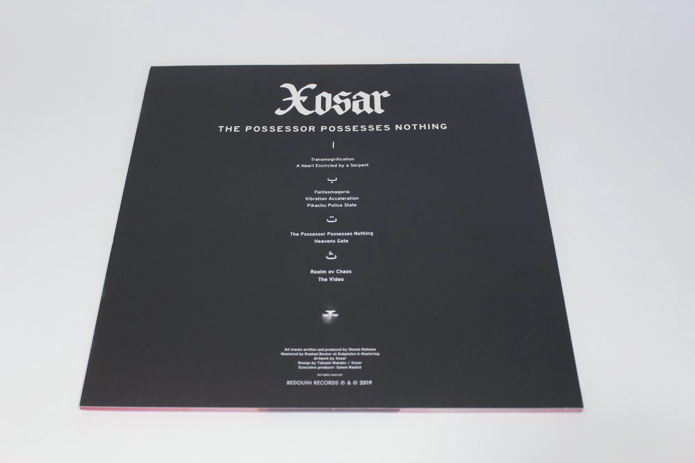 Xosar ‎– The Possessor Possesses Nothing